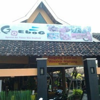 Photo taken at Goeboeg Resto by Yulian G. on 7/28/2013