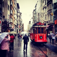Photo taken at İstiklal Avenue by burak d. on 11/7/2013