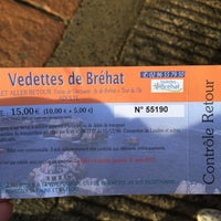 Photo taken at Vedette de Brehat by Ness9178 on 9/1/2016