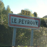 Photo taken at Le peyroux by Ness9178 on 10/30/2012
