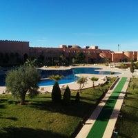 Photo taken at Hotal riad Mogador agdal by Nizar K. on 12/11/2014