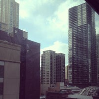 Photo taken at Homewood Suites by Hilton Chicago-Downtown by Tricia T. on 4/3/2013