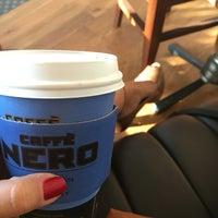 Photo taken at Caffé Nero by Burcu S. on 9/5/2016