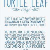 Photo taken at Turtle Leaf Cafe by Turtle Leaf Cafe on 9/4/2015