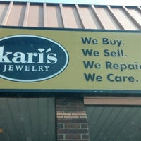 Photo taken at Kari's Jewelry by Leland (. on 4/17/2013