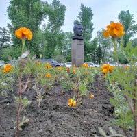 Photo taken at Памятник Ю.А. Гагарину by Fritz on 6/12/2013