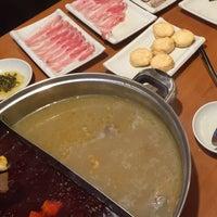 Photo taken at La Mei Zi Restaurant (辣妹子火锅) by Jennifer N. on 9/8/2015