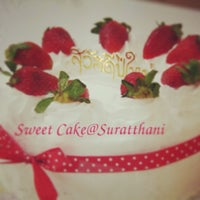 Photo taken at Sweet Cake@Suratthani by Sweet Cake@Suratthani on 3/12/2013
