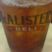 Photo taken at McAlister's Deli by Ernessa S. on 12/18/2015