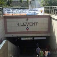 Photo taken at 4. Levent Metro İstasyonu by Pirazizli O. on 9/12/2015