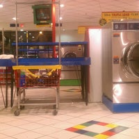 Photo taken at LaundroMania by Nathaniel G. on 12/6/2012