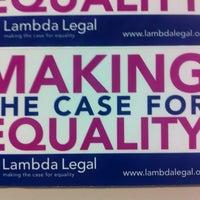 Photo taken at Lambda Legal by Activist O. on 1/28/2013