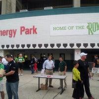 Photo taken at Al Lang Stadium by david m. on 10/27/2012