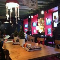Photo taken at Лавка и кафе Студии Артемия Лебедева by Andrey D. on 1/6/2013
