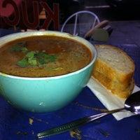 Das Foto wurde bei Souper! Die Suppenkueche von Petra M. am 2/16/2013 aufgenommen