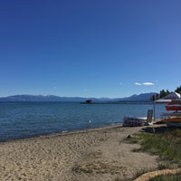 Photo taken at Commons Beach by Robin B. on 10/2/2017