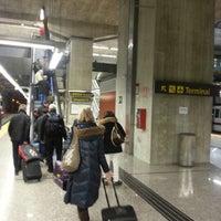 Foto tomada en Cercanías Aeropuerto T4 por Franklin F. el 1/1/2013