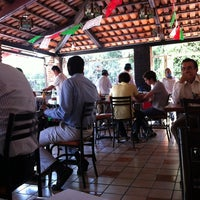 Photo taken at Restaurante La Santa Cruz by Ed R. on 10/9/2012