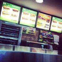 Photo taken at Subway by Vitor C. on 8/16/2013