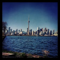 Photo taken at Toronto Islands by Drew W. on 5/4/2013