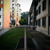 Photo taken at Tanglin Halt Road by Leon T. on 7/29/2014
