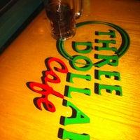 Photo taken at Three Dollar Cafe by Evan D. on 10/20/2012