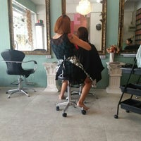 Photo taken at Retro Hair Salon by Khae D. on 9/14/2015