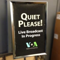Photo taken at Voice of America by Arkady P. on 2/26/2013