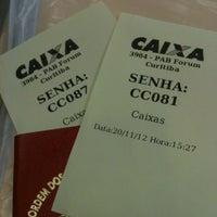 Photo taken at Banco do Brasil by Guida B. on 11/20/2012