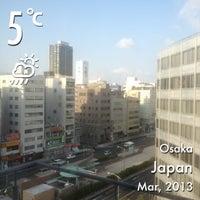 Photo taken at ヴィアイン心斎橋長堀通 by nachiko s. on 3/1/2013