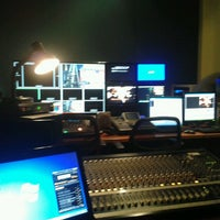 Photo taken at Estudio de Tv by Daniel G. on 8/7/2013