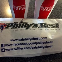 Photo taken at Philly's Best by Maribel X. on 9/22/2014