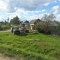 Photo taken at дер. Глазки by ALEKSIS G. on 8/15/2013