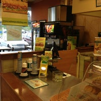 Photo taken at Subway by Jack W. on 1/25/2013