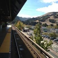 Photo taken at Orinda BART Station by Jack W. on 10/25/2012