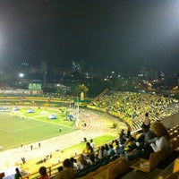 Photo taken at Estadio Alfonso López by Hector C. on 2/28/2013