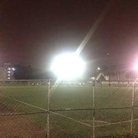 Photo taken at Cancha de Futbol de la Delegación Benito Juarez by Eduardo S. on 7/9/2013
