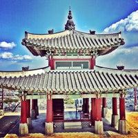 Photo taken at Hwaseong Fortress by Yaroslav R. on 4/11/2013
