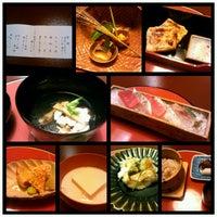 Снимок сделан в Tokyo Shiba Tofuya Ukai пользователем Isao O. 9/26/2012