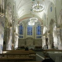 Photo taken at Saint Andrew's Cathedral by Tomasz D. on 11/23/2012