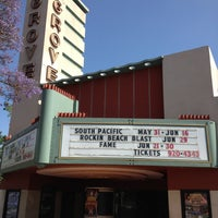 Photo taken at The Grove Theater by Ann F. on 5/23/2013