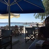 Photo taken at Rıhtım Beach by Sezer T. on 7/21/2016
