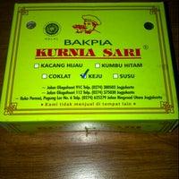 Photo taken at Bakpia Kurnia Sari by nurliani 4. on 12/8/2012