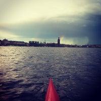 Photo taken at Riddarfjärden by Markus H. on 8/13/2013