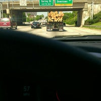 Photo taken at I-85 Exit 88: Cheshire Bridge Road by Jen R. on 4/23/2013