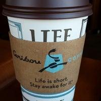 Photo taken at Caribou Coffee by Jason L. on 4/11/2014