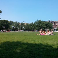 Photo taken at Wicker Park by narni on 7/5/2013