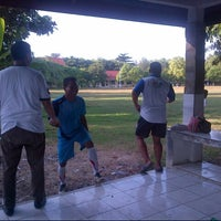 Photo taken at Pulau Karya by novi E. on 5/30/2014