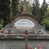 Photo taken at Lychakiv Cemetery by Alexander S. on 5/4/2013