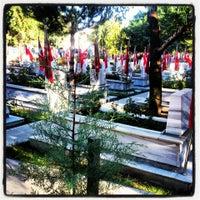 Photo taken at Karaağaç Mezarlığı by musti k. on 10/14/2013